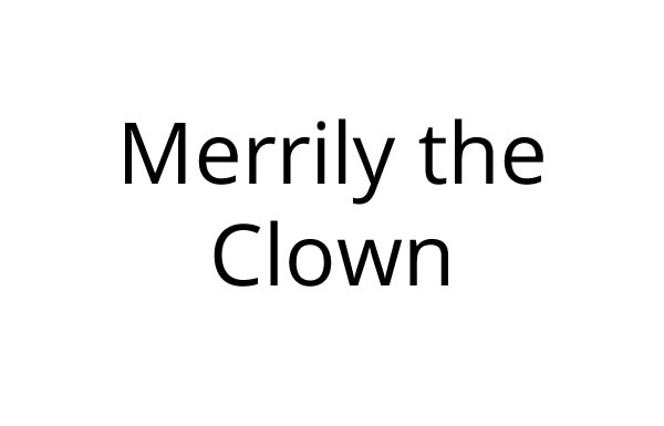 Merrily The Clown